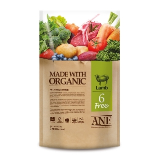 [슈퍼마트] ANF 유기농 6Free 양고기 전연령 강아지 6kg