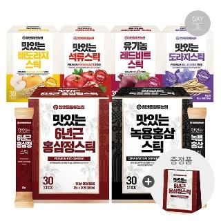 [1212타임] 황토농원 맛있는 홍삼정 스틱 1박스 30포+전용쇼핑백 외 5종 모음전