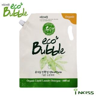 [에코버블] 유기농 친환경 액체 세탁세제 1800ml 리필_일반/드럼 겸용