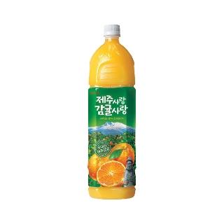 [슈퍼마트]제주사랑 감귤50% 1.5L