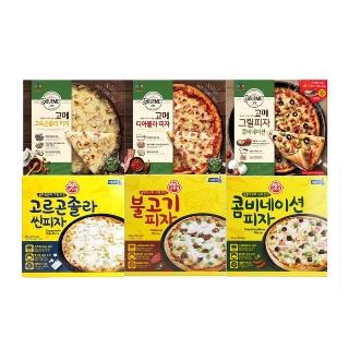 [슈퍼마트] 오뚜기 콤비네이션 피자 외 13종