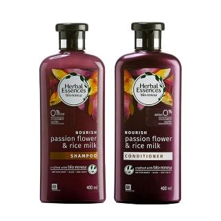 [티몬균일가] 허벌에센스시계초꽃&라이스밀크영양 샴푸/린스 400ml 1+1