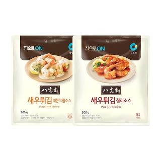 [티몬균일가] 청정원 집으로ON 팔선생 새우튀김 2종