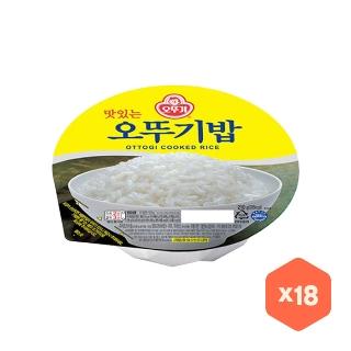 [슈퍼마트] 오뚜기밥 210g 18입 무배