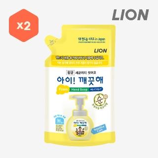 [슈퍼마트]아이깨끗해 순450ml리필x2개