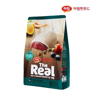 [슈퍼마트] 더리얼 강아지 크런치 오리 어덜트 1kg