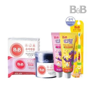 [티몬균일가] 비앤비 유아칫솔/비누/면봉 모음전