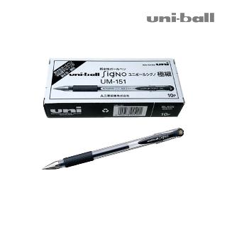 [슈퍼마트] 유니볼 시그노 0.38mm 블랙 10입