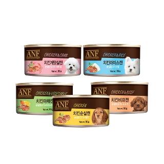 [슈퍼마트] ANF 강아지 간식 캔 95g X 24개 5종 모음