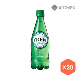 [슈퍼마트] 트레비 플레인 500mlX20