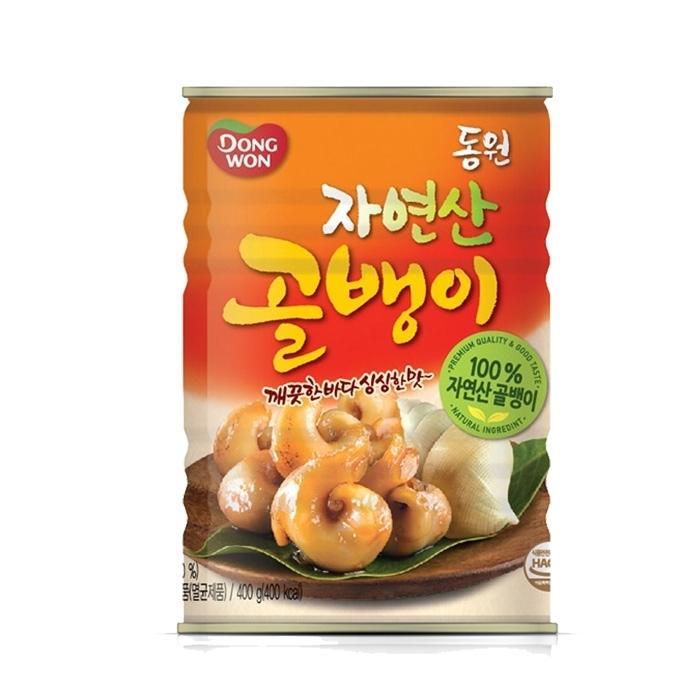 [슈퍼마트] 동원 자연산골뱅이 400g