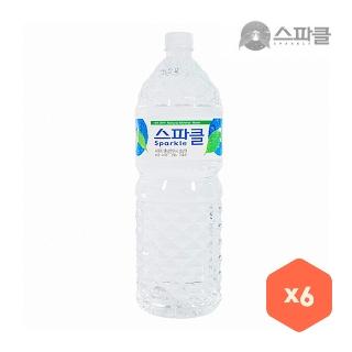 [슈퍼마트] 스파클 2L x 6병