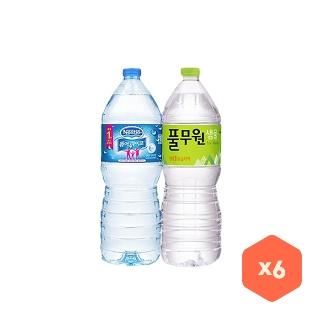 [풀무원] 풀무원 샘물 생수 2Lx6개 외 3종 생수모음전