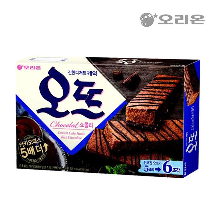 [슈퍼마트] 오리온 오뜨 쇼콜라 6입 150g