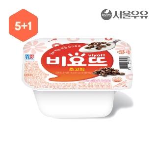 [슈퍼마트] 비요뜨 초코링 5+1