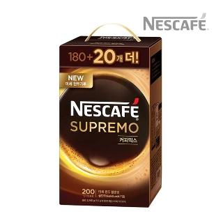 [슈퍼마트] 네스카페 수프리모믹스 200T(180+20T)