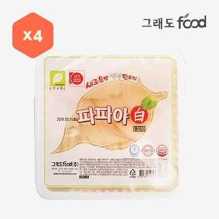 [대용량]파파야 반달단무지 2.5kg * 4입