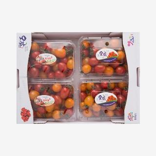 [대용량]컬러대추방울토마토 3kg x 1박스