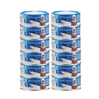 [티몬균일가] 캐츠랑 고메디쉬 캔 90g * 12캔 오리지널