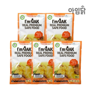 [슈퍼마트] 아임닭 갈릭스파이시 닭가슴살 150g*5