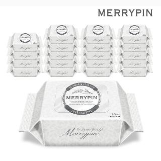 메리핀 오리지널 물티슈 20매 휴대 20팩