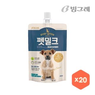 [대용량] 빙그레 펫밀크250ml * 20