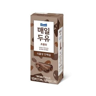 [슈퍼마트] 매일 두유 초콜릿 190ml*24팩