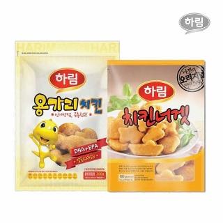 [슈퍼마트] 하림 용가리치킨300g+치킨너겟300g