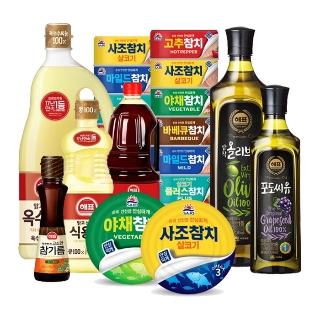 [슈퍼마트] 사조참치/해표식용유 전상품 36종 모음