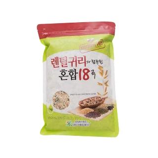 [슈퍼마트]렌틸귀리 혼합18곡 4kg(1kg*4)