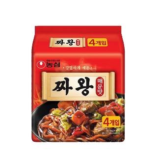 [슈퍼마트]짜왕 매운맛 140g x 4입