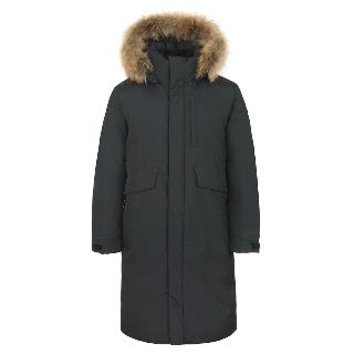 [무료배송] 밀레 남성 롱다운 재킷 남자롱패딩 세련되고 심플한 스타일의 남자 롱패딩