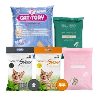 [티몬데이] 티몬균일가 캣토리 모래 15L x 2개 외 인기 고양이모래 모음전