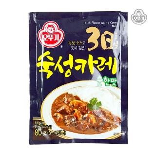 [슈퍼마트]오뚜기3일숙성카레순한맛80G