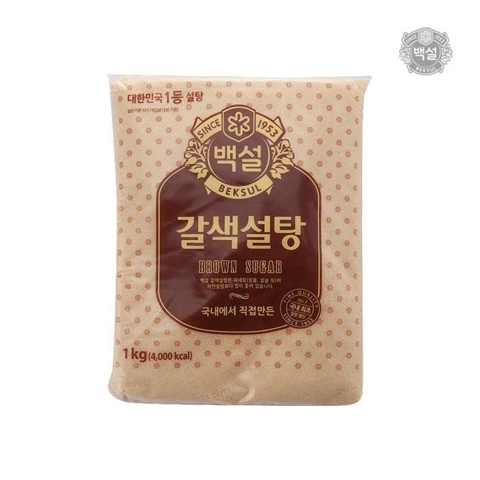 [슈퍼마트] 백설 갈색설탕 1kg