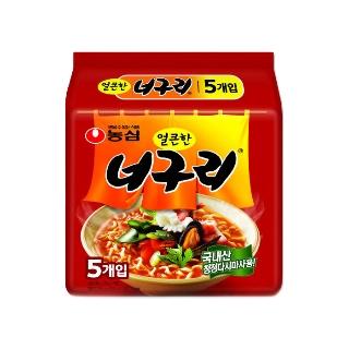 [무료배송] 농심 얼큰너구리 20박스