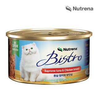 [슈퍼마트]  뉴트리나 비스트로 흰살 참치와닭안심 160g