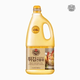 [슈퍼마트] 백설 튀김전용유 1.8L