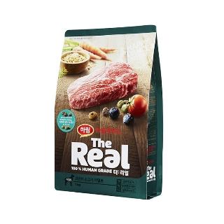 [슈퍼마트] 더리얼 강아지 크런치 소고기 어덜트 1kg
