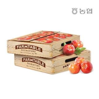 [퍼스트위크] 1212타임 농협 팜테이블 사과 2.5kg 실중량/12과내외/개당 200g내외