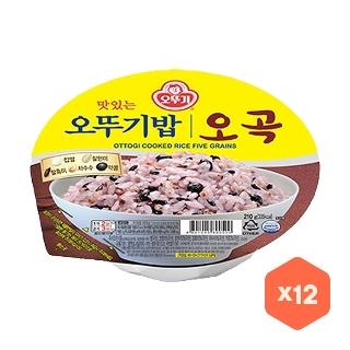 오뚜기밥  오곡 210g 12개