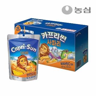 [슈퍼마트]카프리썬 사파리 200㎖X10