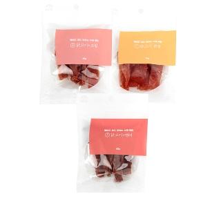 [티몬균일가] 벨버드 국내산 수제간식 60g * 3팩