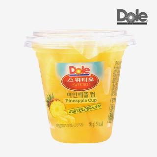 [슈퍼마트] Dole 파인애플컵 198g*1컵