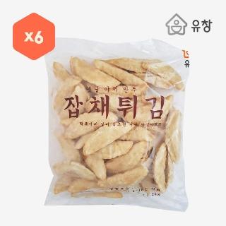 [대용량]잡채튀김 1.2kg×6입