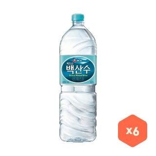 [슈퍼마트][슈퍼예약배송]백산수 2L x 6병