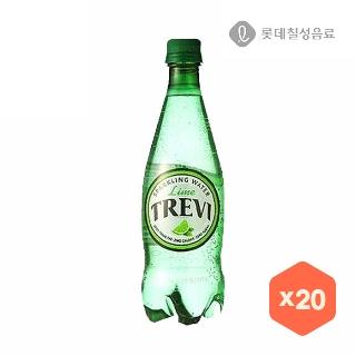 [슈퍼마트] 트레비라임 500ml*1입/20입