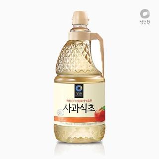 [슈퍼마트] 대상 청정원 사과식초 1.8L