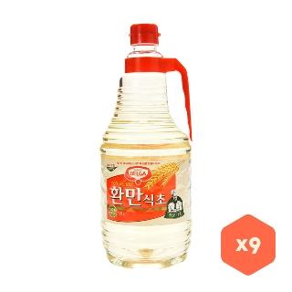 [대용량] 롯데 환만식초 X 1.8L X 9입 X 2박스