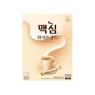 [티몬균일가]  맥심 화이트골드 커피믹스 250T